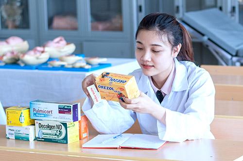 Sinh viên ngành Dược sẽ được đào tạo bài bản về các công nghệ y dược hiện đại