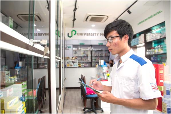 Nhà thuốc Đại học cũng là địa chỉ thực tập lý tưởng của sinh viên Duy Tân