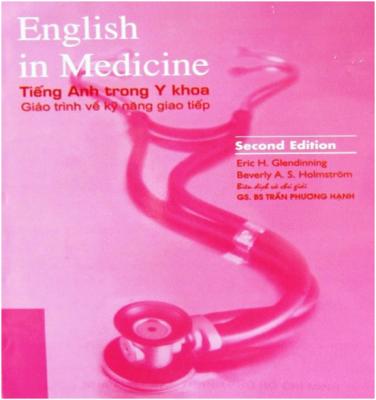 English in Medicine sách gối đầu giường của sinh viên trường Y
