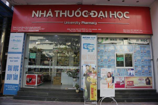 Nhà thuốc Đại học của Đại học Duy Tân - Nơi các bạn sinh viên có thể kiến tập, thực tập